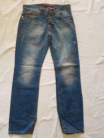 Paczka paka 7 par spodnie Zara Pull&Bear Cipo&Baxx rozmiar 30/31 M/L