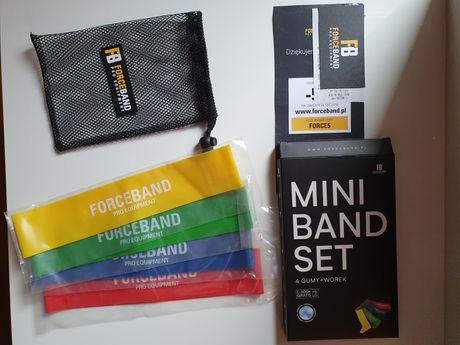 Gumy Mini Band Set Forceband nowe