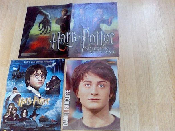 Harry Potter - plakaty, notes, soundtrack, karty, film DVD, książka
