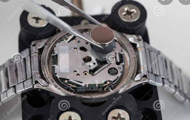 Trocamos a pilha do seu relógio em sua casa  ®Senhor relógio®
