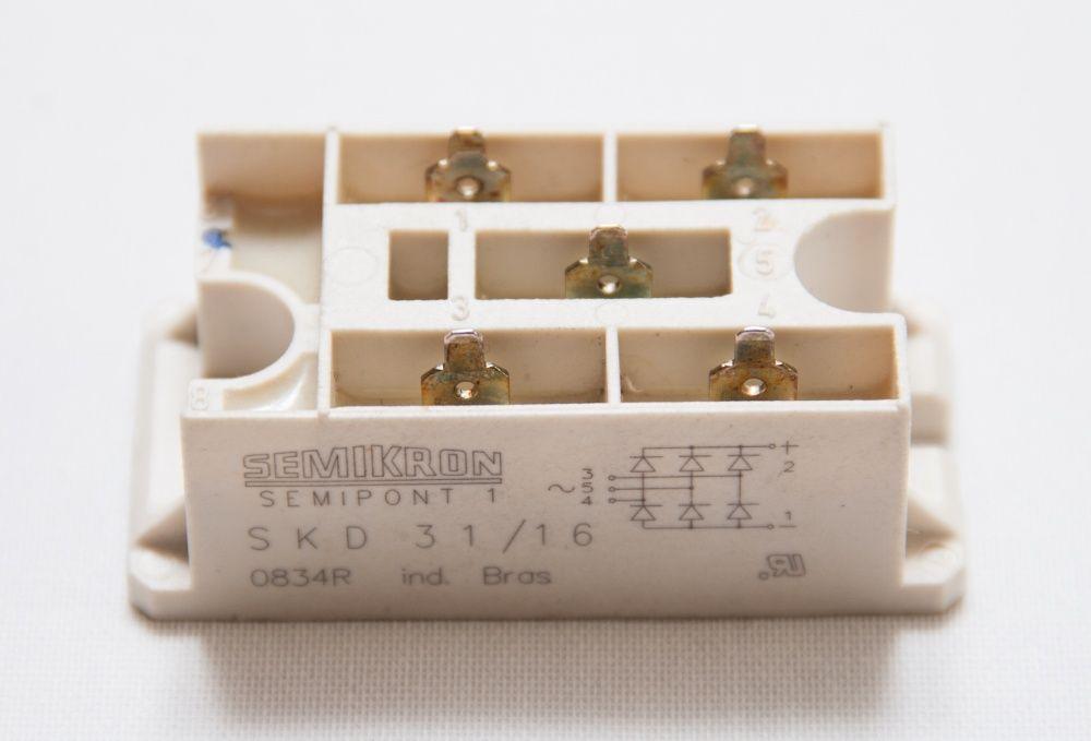 Mostek prostowniczy trójfazowy Semikron SEMIPONT 1 SKD31/16 Bochnia - image 1