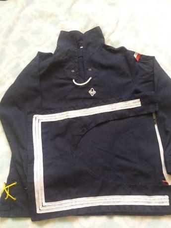 Bluza harcerska marynarska, żeglarska, ZHP wodne rozm. 158