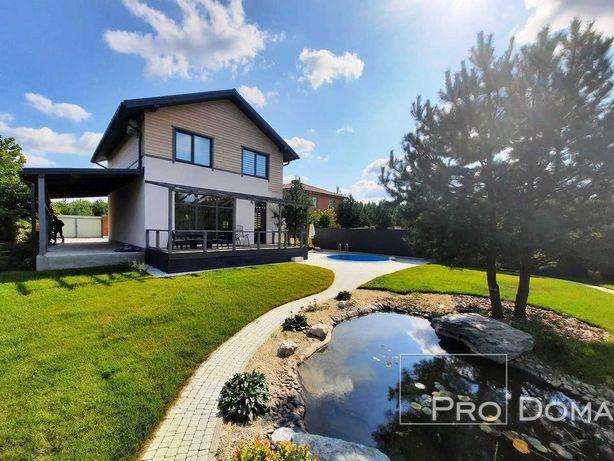 Продам дом 130м.кв под Лесом 4 комнаты, бассейн, озеро