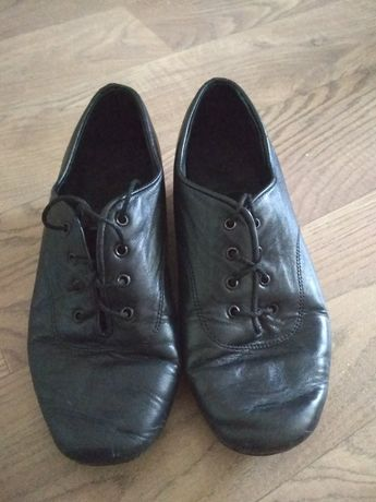 Туфли танцевальные кожаные