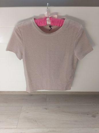 Nowa bluzka brokatowa XS