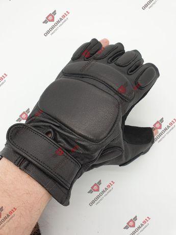 Перчатки тактические без палые черные и хаки