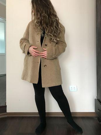 Пальто лама коротке
