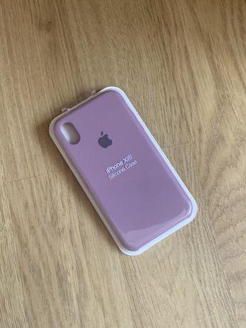 Apple etui case iphone xr fioletowy