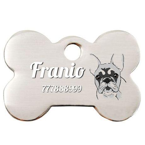 Identyfikator tag adresowka dla psa różne wzory