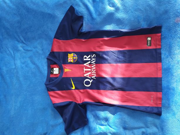 T-shirt koszulka Nike Barcelona rozmiar L dziecięcy piłka nożna sport