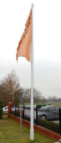 Słup, maszt wysokość 8,5m np. do flagi.