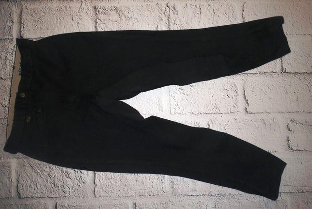 Bryczesy, Spodnie do jazdy konnej Black Forest roz. 38 czarne Tanio