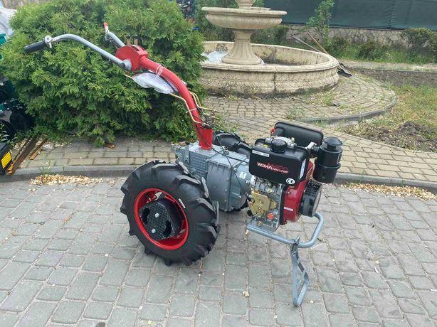 Мотоблок Мотор Сич МБ-6Д ручной стартер дизель