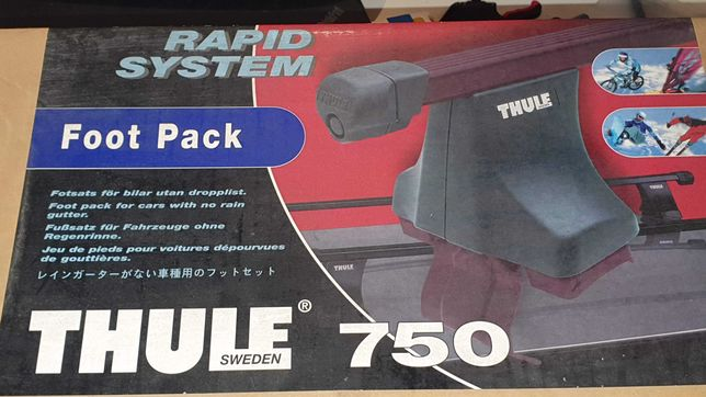 Thule 750 RAPID SYSTEM FOOT PACK - jak nowe