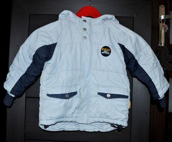 Coccodrillo 92 / 98 - kombinezon zestaw kurtka / spodnie, rękawiczki