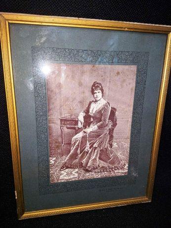 D. Maria Pia Em 1895 Cliché Bobone