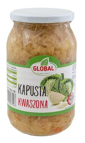 kapusta kiszona ( Kwaszona ) z marchewką 1 L w słoiku