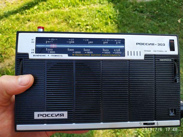 Радиоприемник радіоприймач Россия 303 1982 года СССР в відмінном стані