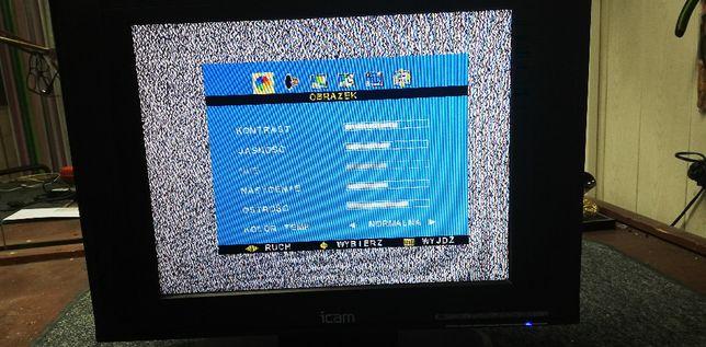 Tv LCD 22cale ICAM-polskie menu