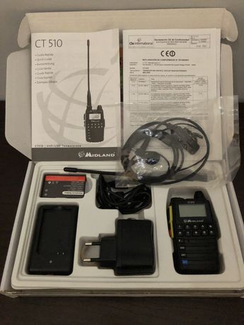 Walkie talkie midland ct510