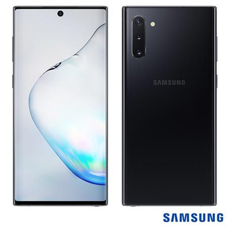 Note 10 preto normal 256gb