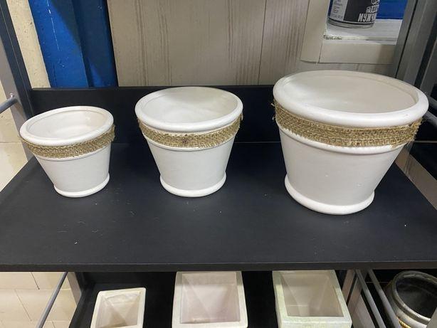 Горшки вазоны декоративные
