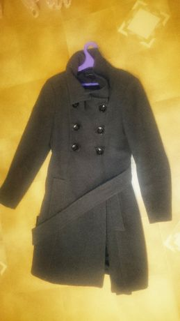 Продам пальто ZARA BASIC б\у