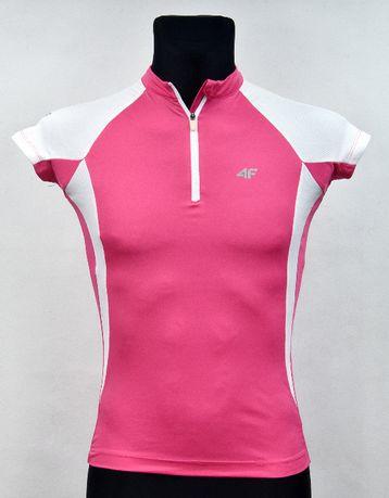 4F - Damska koszulka rowerowa - roz.S