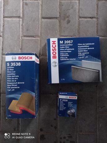 Zestaw filtrów samochodowych Bosch
