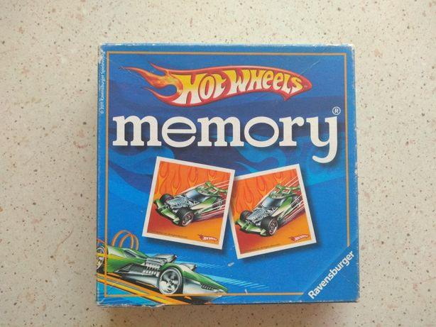Gra menory hot wheels