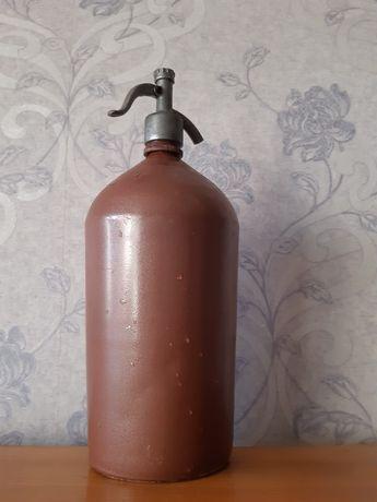 Сифон СССР для газировки.