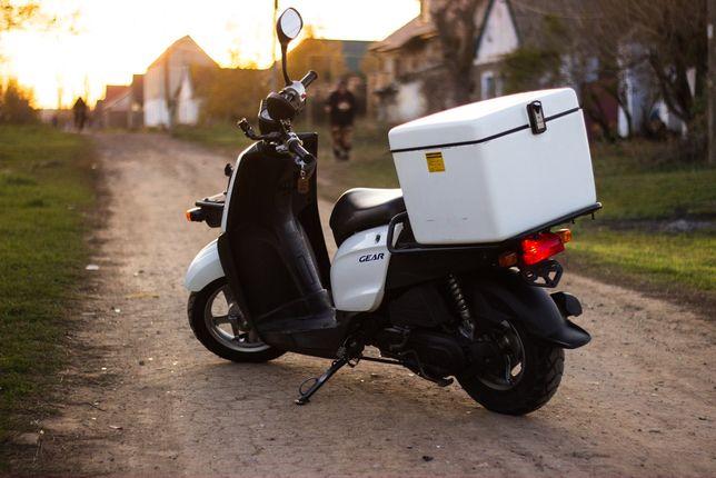 Yamaha Gear 4t грузовой мопед