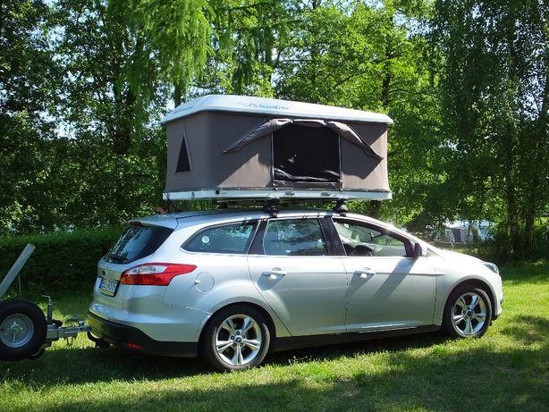 Namiot dachowy Outback130 w twardej obudowie