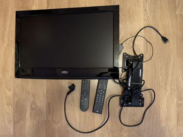 Telewizor 24 cale z dekoderem i uchwytem na sciane