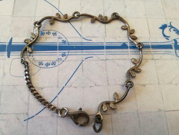Pulseiras de prata+anel de prata (v.p.ind)
