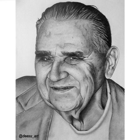 Rysunek, portret - idealny na prezent - A4, A3