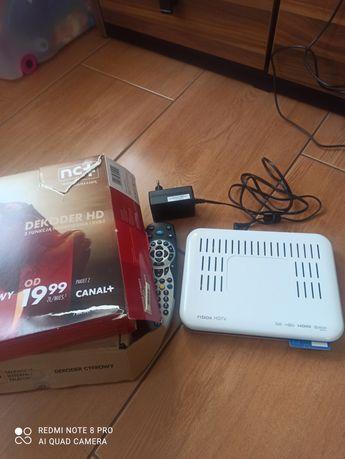 Dekoder N na kartę nBox HDTV plus karta ITI 2850T