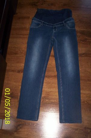 Spodnie ciążowe jeans - rozmiar 38
