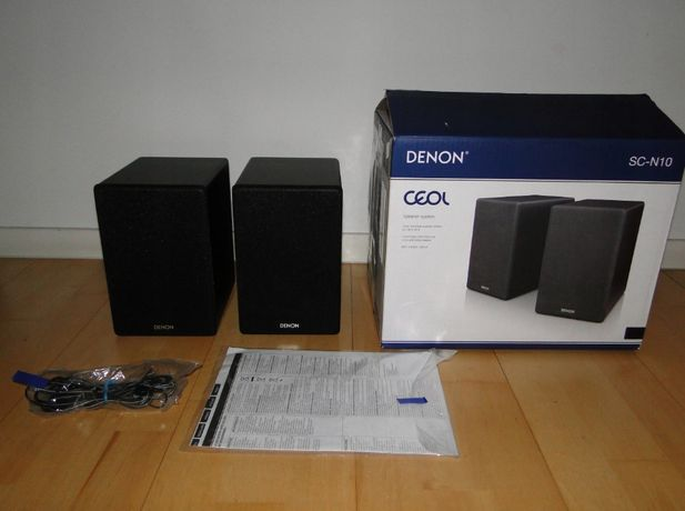 Super kolumny stereo DENON SC-N10 JAK NOWE OKAZJA!