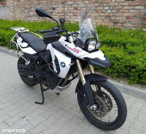 BMW F BMW F800GS od motocyklistki prywatnie ABS alarm tempomat grzane manety