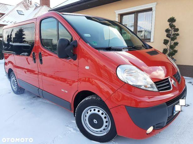 Renault Trafic VIVARO 2.0CDTI 9os*Serwis*Super Zadbany,Niemcy*Zarej.PL*KLIMA*Nawiew!!