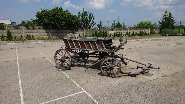 Strara dorożka bryczka wóz konny furmanka karoca
