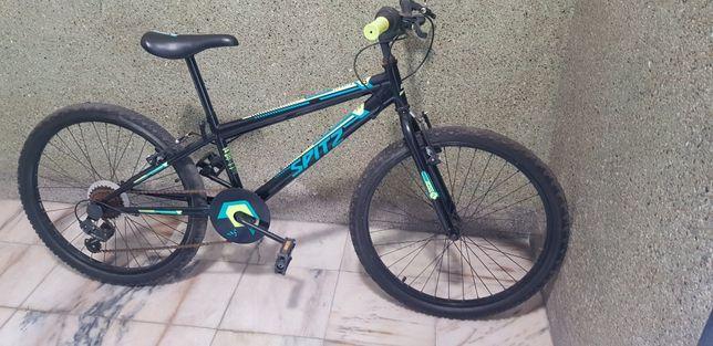 Bicicleta criança roda 24 Spitz