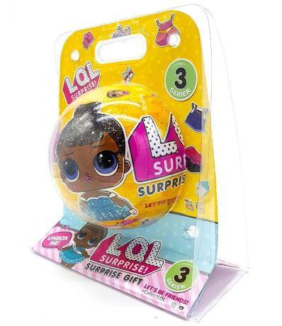 Кукла ЛОЛ шар, LOL, Surprise GIFT 3 серия