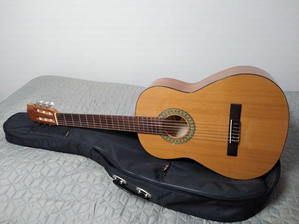 Nowa gitara klasyczna 4/4 portugalska Calida z pokrowcem !!