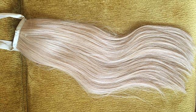 Накладной шиньон хвост из натуральных волос Hair Extension