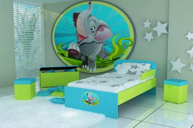 Łóżko dla dzieci, łóżko pojedyncze, łóżko piętrowe, różne kolory
