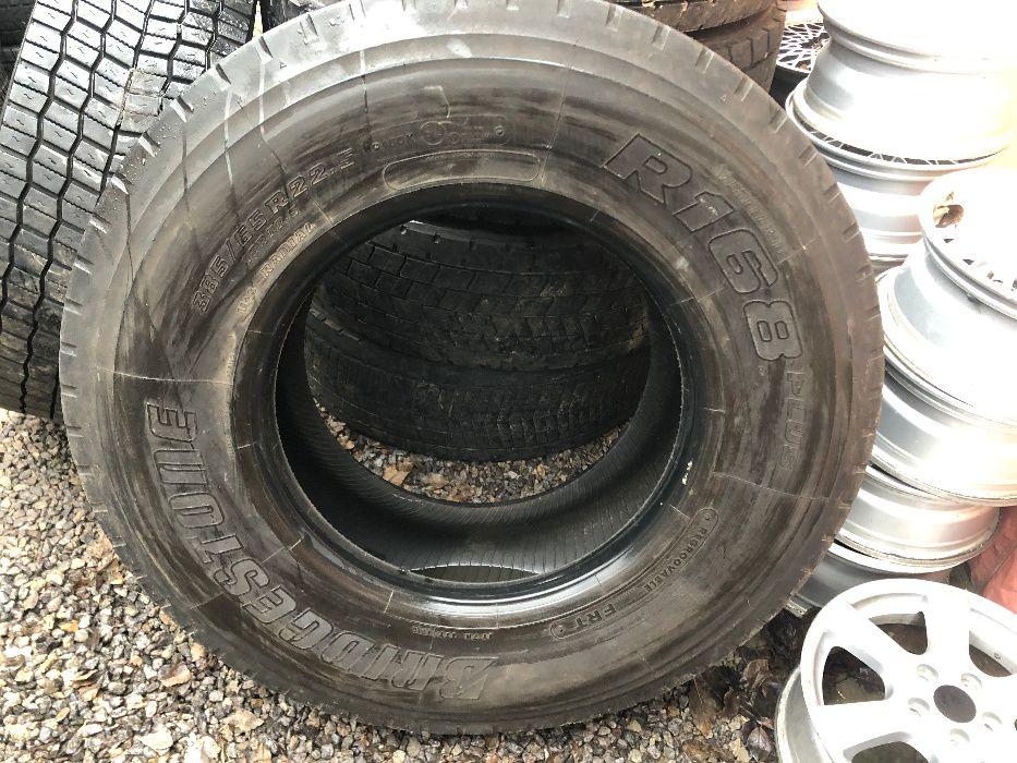 Шина BRIDGESTONE 385/65 R22.5 R168, грузовая резина Винница - изображение 1