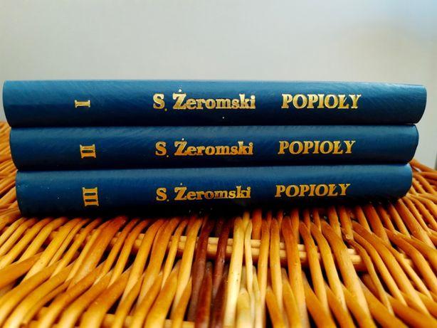 Popioły - Żeromski (3 tomy)