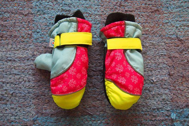 Rękawiczki zimowe dla dziecka 3-5 lat NOWE